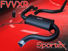 Sportex Vauxhall Corsa VXR performance exhaust system 2007-2010