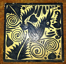 American Southwest San Jose Era  Art Pottery Gazelle Tile