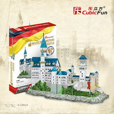 Neuschwanstein Castle Germany CubicFun 3D Puzzle Paper Model Jigsaw MC062h-2