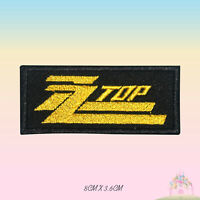 ZZ Top Music Band Embroidered Iron On Sew On Patch Badge For Clothes etc