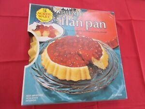 "Vintage Nordic Ware Bundt ""Flan Pan""Harvest Yellow-4 Cup Size-Non-Stick Interior"