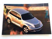 2003 Chrysler PT Cruiser 30-page Car Sales Brochure Catalog - Woodie Chromed