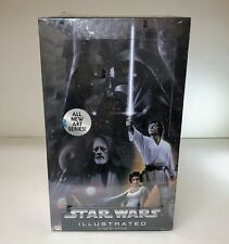Star Wars Illustrated A New Hope - Sealed Trading Card Hobby Box - Topps 2013