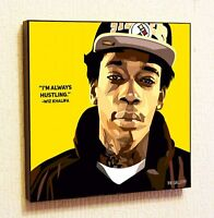 Wiz Khalifa Painting Decor Print Wall Art Poster Pop Canvas Quotes Decals