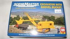 Walthers SceneMaster Kit HO Excavator with Shovel Bucket #949-11001