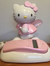 Sanrio Hello Kitty Phone Landline Telephone Caller ID Works Excellent Condition