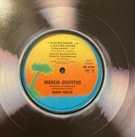 "Marcia Griffiths - Electric Boogie feat Bunny Wailer (12"" Vinyl VG+1983)"