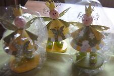 Dekofiguren aus Holz mit Thema Engel fürs Kinderzimmer