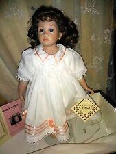"Hildegard gunzel doll "" ERICA "" signed by H. Gunzel MINT in original box"