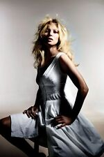 Topshop zip front cotton dobby sundress  by Kate Moss for Topshop UK 16 in White