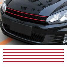 RED Front Hood Grille Decals Car Stripe Sticker Decoration for VW Golf 6 7 UK