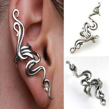 Fashion Punk Rock Temptation Crystal Rhinestone Wrap Ear Cuff Clip Stud Earring