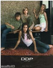 PUBLICITE ADVERTISING 105  2006  DDP  vetements enfants