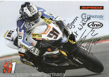 Leon Haslam TOP AK Orig. Sign. Motorsport + G 5394