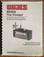 Coats 4050a Tire Changer Service Manual And Troubleshooting Guide