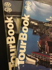 AAA CAA Tour Book Canada Ontario Atlantic Provinces Quebec Vintage 1994
