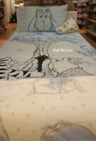 DISNEY Winnie the Pooh Eeyore Single/Double/King Duvet set/Fleece Throw Primark