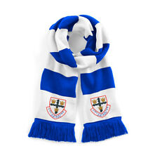 Colchester United 1970's Traditional Football Scarf Embroidered Logo