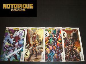 Empyre X-Men 1-4 Complete Comic Lot Run Set Marvel Hickman Collection