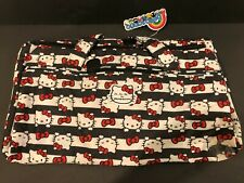 NWT Jujube Hello Kitty HK Dots And Stripes Starlet Star Let Duffle Bag Bow
