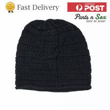 Beanie Black Hat Cap Men Mens Knit Winter Ski Women Plain Solid New Caps Hats Ca