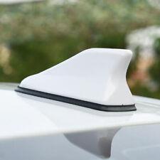 Universal White Shark Fin Decorate Roof FM/AM Radio Signal Antenna Aerial