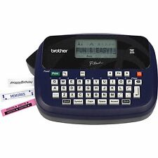 Brand New Brother Ptouch PT45M Labeler Label Maker w/ Starter Tapes LCD Qwerty