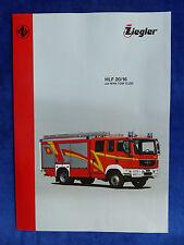 Ziegler Feuerwehr HLF 20/16 auf MAN TGM - Prospekt Brochure 05.2010