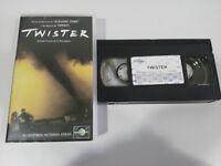 Twister Jan de Bont Helen Hunt Bill Paxton - VHS Kassette Tape Spanisch
