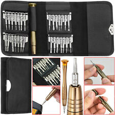 Mobile Phone Repair Kit Screwdriver Tool Set 29 In 1 For Opening iPhone IPad UK