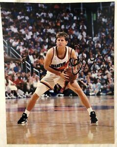 Danny Ainge Phoenix Suns Signed 11x14 Photo - NBA Basketball Auto