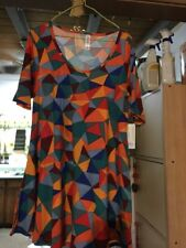 LuLaRoe XS Perfect T  Colorful Triangles Stretchy! NWT.