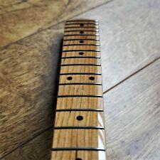 Tele Telecaster Roasted Baked Maple Electric Guitar Neck 22 Fret Gloss