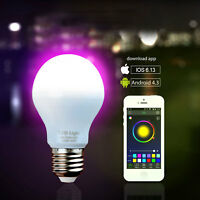 Smart Wireless Bulbs LED Light Remote Control Color Change For iOS & Android US
