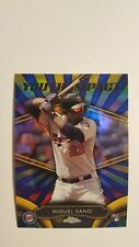 2016 Topps Chrome Youth Impact #YI-6 Miguel Sano Rookie Baseball Card