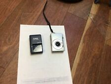 Canon PowerShot A4000 IS 16.0MP Digital Camera - Silver w/ battery charger