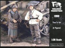 Verlinden 1:35 Time to Eat 2 Resin Figures Kit #1950