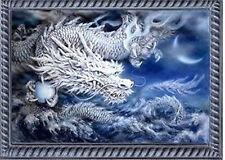 """NEW Cross Stitch Kits""""Ambition ice dragon''"""
