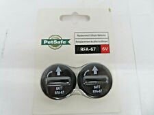 PetSafe RFA-67D-11 Replacement 6-Volt Battery 2pk