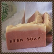 FEATURED IN AUST HOUSE & GARDEN 2016  1 X Mens Beer Soap, Natural, Organic.