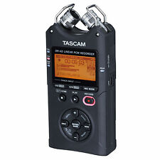 Tascam DR-40 Linear PCM 4-Track Handheld Portable Audio Recorder
