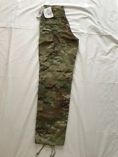 NWT US MILITARY ISSUE RIPSTOP COMBAT TROUSERS PANTS OCP MULTICAM SMALL LONG