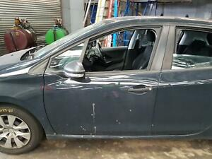 PEUGEOT 208 LEFT FRONT WINDOW REG/MOTOR A9, 5DR HATCH, 10/15-