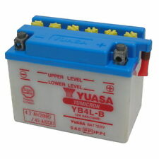 BATTERIA YUASA YB4L-B 00/> PEUGEOT X FIGHT LC 50 06.504340 12V4AH INDONESIA
