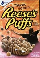 Travis Scott X Reeses Puffs Cereal Special Edition (Family Size) *FREE SHIP*