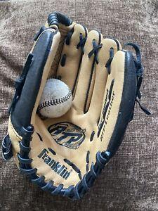 Franklin Baseball glove / Mitt and ball.
