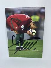 handsignierte Cristiano Ronaldo Autogramm Autogrammkarte 10x15 ORIGINAL signiert