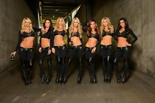 NASCAR SUPERSTARS MONSTER ENERGY GIRLS  8X10 PHOTO W/BORDERS