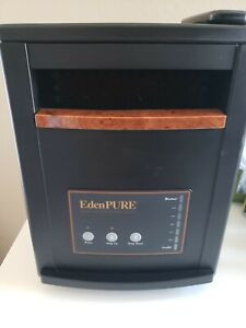 EdenPure Infrared Portable Heater 1000XL 1500 Watt W/ Remote