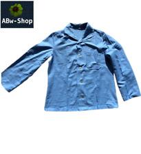 Bundeswehr Schlafanzug Pyjama Oberteil Hemd / Jacke blau (alle Größen)